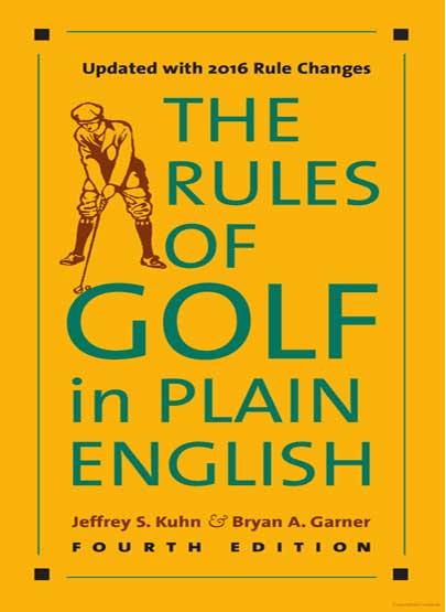 golf-international-rule-book