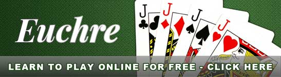 Learn to play the card game Euchre