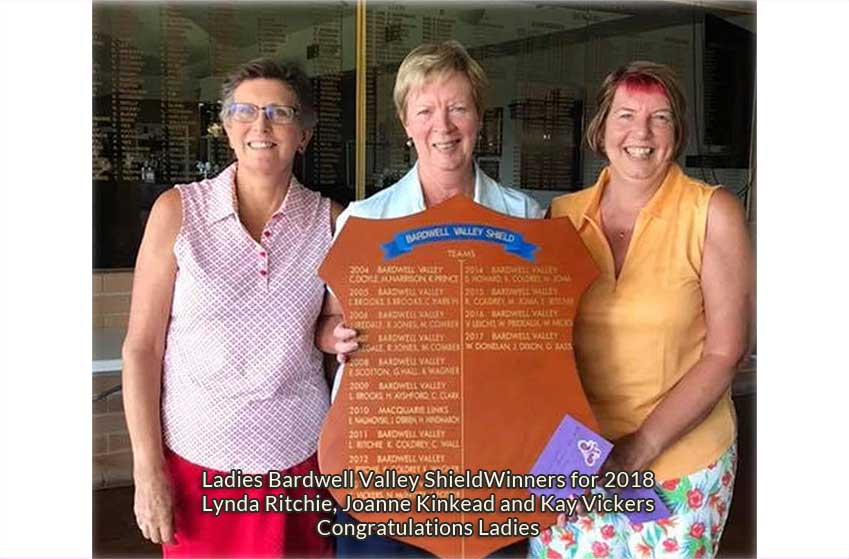 Lynda Ritchie, Joanne Kinkead and Kay Vickers Congratulations Ladies